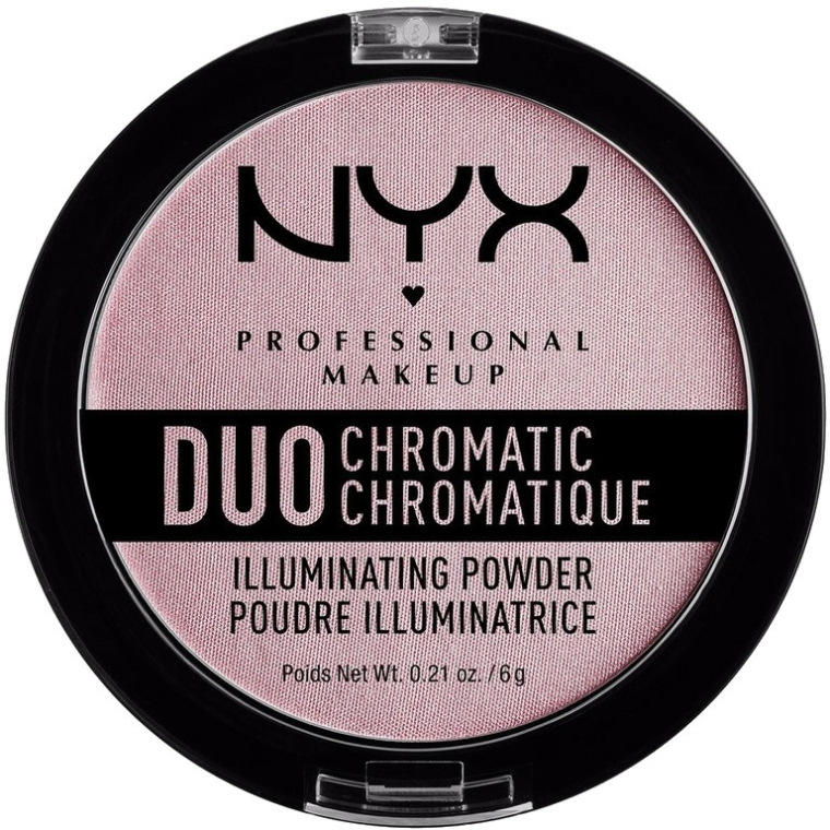 Highlighter arcra - NYX Professional Makeup Duo Chromatic Illuminationg Powder