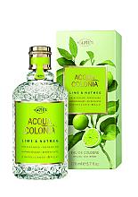 Parfüm, Parfüméria, kozmetikum Maurer & Wirtz 4711 Aqua Colognia Lime & Nutmeg - Kölni