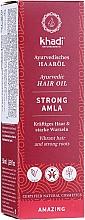 Parfüm, Parfüméria, kozmetikum Erősítő hajolaj - Khadi Ayuverdic Strong Amla Hair Oil