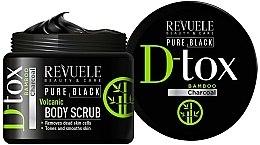 Parfüm, Parfüméria, kozmetikum Testradír - Revuele Pure Black Detox Volcanic Body Scrub