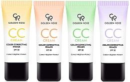 Parfüm, Parfüméria, kozmetikum CC-krém színkorrekció arcra - Golden Rose CC Cream Color Correcting Primer