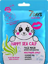 "Parfüm, Parfüméria, kozmetikum Arcmaszk ""Boldog fóka"" - 7 Days Animal Happt Sea Calf"