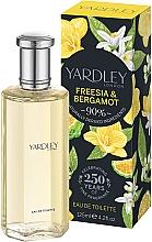 Parfüm, Parfüméria, kozmetikum Yardley Freesia & Bergamot - Eau De Toilette