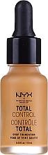 Parfüm, Parfüméria, kozmetikum Tartós alapozó - NYX Professional Makeup Total Control Drop Foundation