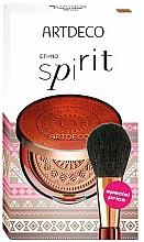 Parfüm, Parfüméria, kozmetikum Készlet - Artdeco Ethno Spirit (powder/9g + brush)