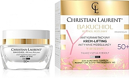 Parfüm, Parfüméria, kozmetikum Aktív modellező arckrém 50+ - Christian Laurent Bakuchiol Retinol Y-Reshape Lifting Cream