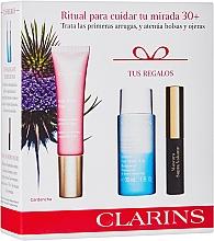 Parfüm, Parfüméria, kozmetikum Szett - Clarins Multi Active Yeux Set (eye/cr/15ml+makeup/remover/30ml+mascara/3.5ml)