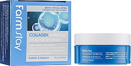 Parfüm, Parfüméria, kozmetikum Szemtapasz kollagénnel - FarmStay Water Full Hydrogel Eye Patch