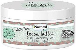 Parfüm, Parfüméria, kozmetikum Kakaóvaj - Nacomi Natural Kakao Butter