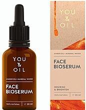 Parfüm, Parfüméria, kozmetikum Tápláló világosító arcszérum - You & Oil Amber. Face Bioserum