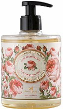 "Parfüm, Parfüméria, kozmetikum Folyékony szappan ""Rózsa"" - Panier des Sens Rose Liquid Marseille Soap"