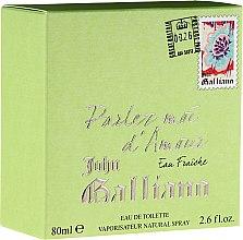 Parfüm, Parfüméria, kozmetikum John Galliano Parlez-Moi d'Amour Eau Fraiche - Eau De Toilette
