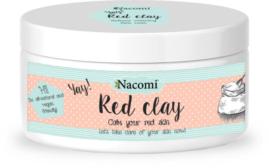 Agyag arcpakolás - Nacomi Red Clay