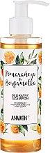 """Parfüm, Parfüméria, kozmetikum Sampon """"Narancs és bergamott"""" normál és zsíros hajra - Anwen Orange and Bergamot Shampoo"""