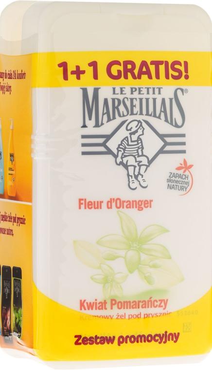 """Készlet """"Narancsvirág"""" - Le Petit Marseillais (sh/gel/250ml + sh/gel/250ml)"""