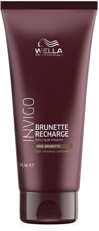 Hajszínélénkítő kondicionáló barna hajra - Wella Professionals Invigo Color Recharge Cool Brunette Conditioner