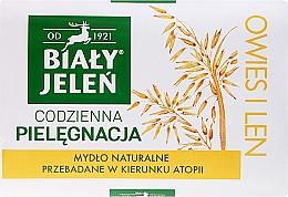 Parfüm, Parfüméria, kozmetikum Hipoallergén szappan, zab kivonattal - Bialy Jelen Hypoallergenic Soap Natural Oats