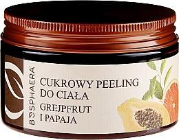 """Parfüm, Parfüméria, kozmetikum Cukor bőrradír """"Grapefruit és papaya"""" - Bosphaera"""