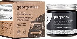 Parfüm, Parfüméria, kozmetikum Natúr fogpor - Georganics Activated Charcoal Natural Toothpowder