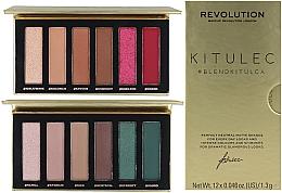 Parfüm, Parfüméria, kozmetikum Szett - Makeup Revolution Kitulec #BlendKitulca Shadow Palette (2xsh/palette/7.8g)