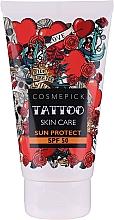 Parfüm, Parfüméria, kozmetikum Napvédő krém - Cosmepick Tattoo Skin Care Sun Protect SPF 50