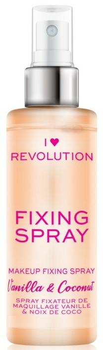 Sminkfixáló spray - I Heart Revolution Fixing Spray Vanilla & Coconut
