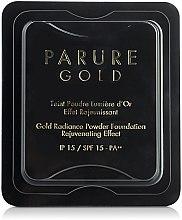 Parfüm, Parfüméria, kozmetikum Tartalék blokk kompakt púderhez - Guerlain Parure Gold Compact Powder Foundation Refill SPF15