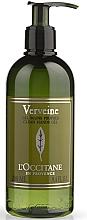 """Parfüm, Parfüméria, kozmetikum Kézfertőtlenítő """"Vasfű"""" - L'Occitane Verbena Clean Hands Gel"""