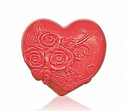 "Parfüm, Parfüméria, kozmetikum Glicerin szappan ""Heart in love"", piros - Bulgarian Rose Soap"