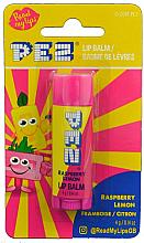 """Parfüm, Parfüméria, kozmetikum Ajakbalzsam """"Málna és citrom"""" - PEZ Raspberry Lemon Lip Balm"""