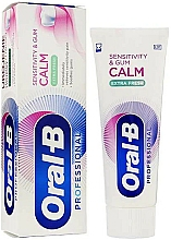 Parfüm, Parfüméria, kozmetikum Fogkrém - Oral-B Professional Sensitivity & Gum Calm Extra Fresh