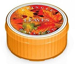 Parfüm, Parfüméria, kozmetikum Teamécses - Kringle Candle Daylight Leaves