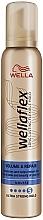 """Parfüm, Parfüméria, kozmetikum Ultra erős fixálású mousse """"Dús hatás"""" - Wella Wellaflex Volume & Repair"""