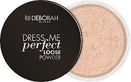 Parfüm, Parfüméria, kozmetikum Porpúder arcra - Deborah Dress Me Perfect Loose Powder