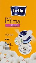 Parfüm, Parfüméria, kozmetikum Egészségügyi betét Panty Intima Plus Normal, 54 db - Bella