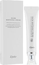 Parfüm, Parfüméria, kozmetikum Hidratáló krém az élénk arcbőrért - Esfolio Snow Whitening Cream