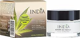 Parfüm, Parfüméria, kozmetikum Arckrém kenderolajjal - India Face Cream With Cannabis