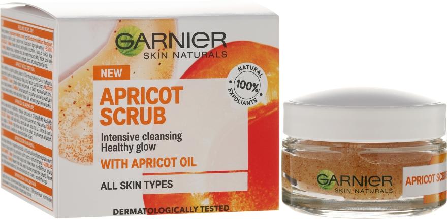 """Arcradír """"Sárgabarack"""" - Garnier Skin Naturals Apricot Face Scrub"""