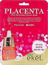Parfüm, Parfüméria, kozmetikum Öregedésgátló szövetmaszk - Ekel Placenta Ultra Hydrating Essence Mask