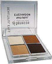 Parfüm, Parfüméria, kozmetikum Szemhéjfesték négy db - Benecos Natural Quattro Eyeshadow
