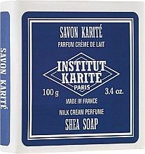 "Parfüm, Parfüméria, kozmetikum Szappan ""Milk Cream"" - Institut Karite Milk Cream Shea Soap"