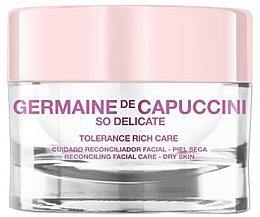 Parfüm, Parfüméria, kozmetikum Nyugtató krém száraz bőrre - Germaine de Capuccini So Delicate Tolerance Rich Care