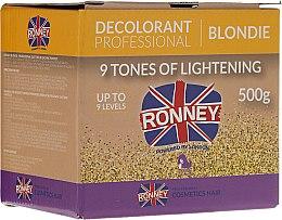 Parfüm, Parfüméria, kozmetikum Hajvilágosító púder, 9 fokos - Ronney Decolorant Professional Blondie