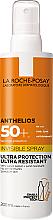 Parfüm, Parfüméria, kozmetikum Ultra könnyű napvédő spray arcra és testre SPF50+ - La Roche-Posay Anthelios Invisible Spray