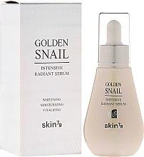 Parfüm, Parfüméria, kozmetikum Bőrvilágosító szérum - Skin79 Golden Snail Intensive Radiant Serum
