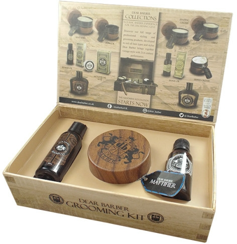Készlet - Dear Barber Style & Go Mattifier Kit (shmp/50ml + con/50ml + paste/100ml)