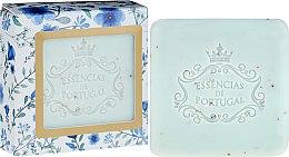Parfüm, Parfüméria, kozmetikum Szappan-radír - Essencias De Portugal Violet And Apricot Kernel Scrub Aromatic Soap