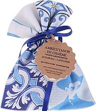 Parfüm, Parfüméria, kozmetikum Aromazsák, fehér-kék, levendula - Essencias De Portugal Tradition Charm Air Freshener