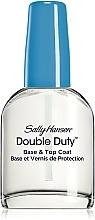 Parfüm, Parfüméria, kozmetikum Kettős hatású alap- és fedőlakk - Sally Hansen Double Duty