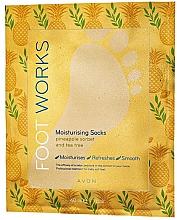 Parfüm, Parfüméria, kozmetikum Hidratáló lábmaszk - Avon Foot Works Mask For Legs